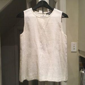 Vince off white blouse size 6